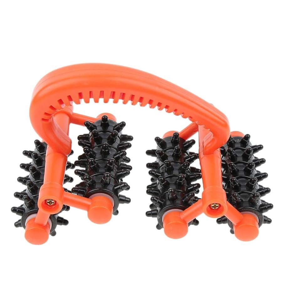 D DOLITY マッサージローラー ハンドル 筋肉 痛み 痛み 即座に軽減 プラスチック 効果的 汎用