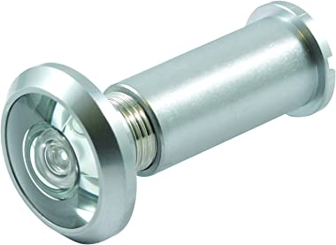Prime-Line MP4366 Door Viewer 200-Degree, 9/16-Inch, Satin Chrome, Pack of 1