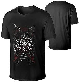 Men's Morbid Angel Music Band Short Sleeves Tee Black Gift