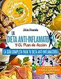 LA DIETA ANTI-INFLAMATORIA Y EL PLAN DE ACCIÓN: La Guía Completa Para Tu Dieta Anti-Inflamatoria Con 150 Recetas Y Un Plan De Alimentación De 4 Semanas