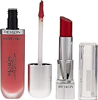 Revlon Ultra HD Matte Lip Color Devotion Promo Pack, Poinsettia