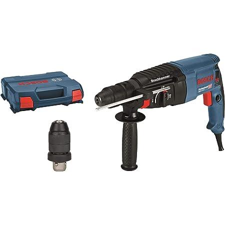 Bosch Professional 0 611 2A4 000 Martello Perforatore GBH 2-26 F, Mandrino Intercambiabile SDS Plus, Potenza del Colpo: 2.7 J, in Valigetta, W, 230 V, 830 Watt