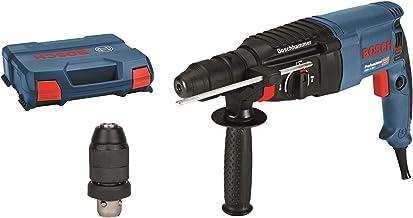 Bosch Professional GBH 2-26 F - Martillo perforador combinado (2,7 J, máx. hormigón 26 mm, portabrocas SDS plus + cilíndri...