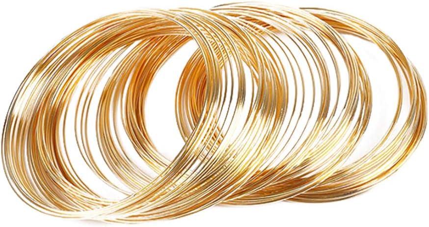 Exceart 60PCS Alloy Wire Max 76% OFF Rolls Crafts Art Flexible Inexpensive Met No-Nickel
