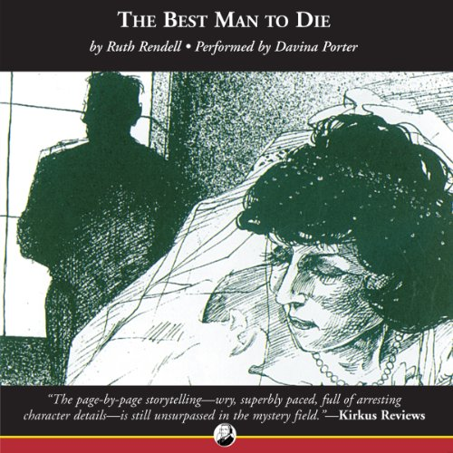 The Best Man to Die audiobook cover art