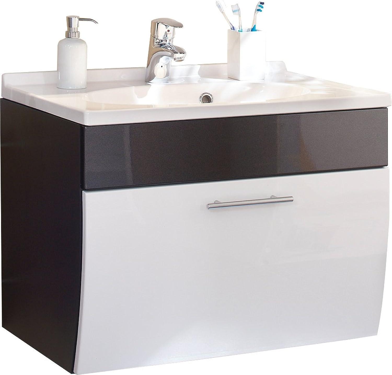 Posseik 5699 99 Waschplatz Santana anthrazit-wei