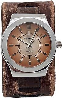 VBXB331B ネメシス ユニエックス 腕時計 ブラウンレザー カフバンド