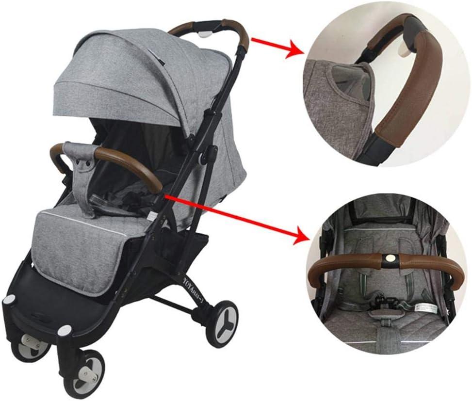 2er Set Kinderwagen Buggy Zubehör Griffbezug Handgriffe Kinderwagengriffbezug