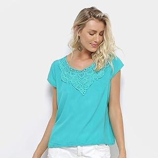 011ede04f Moda - Verde - Camisetas e Blusas   Roupas na Amazon.com.br