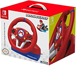 Hori Nintendo Switch Mario Kart Racing Wheel Pro Mini By - Officially Licensed by Nintendo - Nintendo Switch )