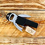 Suck-UK-SK-BOPIRATE1-Legless-Pirate-Beer-Corkscrew-Wine-Bottle-Opener-Keychain-Stainless-Stee-Multicolor