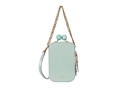Marc Jacobs The Vanity Crossbody (Marine Green) Handbags