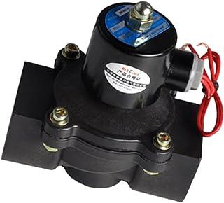 MagiDeal Electroválvula Eléctrica para El Agua Los Combustibles del Aceite del Aire Normalmente Cerrados 32m M