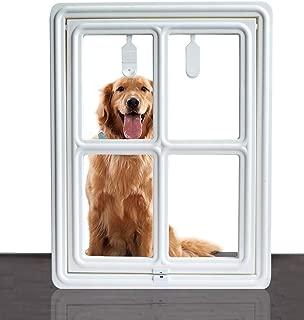 SUCCESS Dog Screen Door for Sliding Screen Door, Magnetic & Automatic Pet Screen Door, Suitable for Dogs & Cats.
