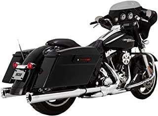 Vance & Hines Eliminator 400 Slip Ons Chrome with Chrome End Caps 16703