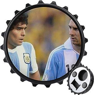 Diego-Maradona flasköppnare ett lock multifunktionell ölflasköppnare, möbler kylskåp dekoration klistermärke