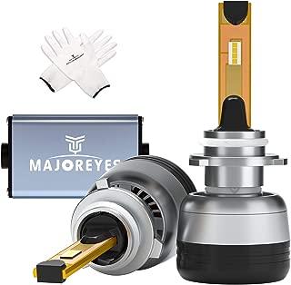 MAJOREYES 9006(HB4/H10) LED Headlight Bulbs,CREE Chips-(60W-10000LM-6000K) Conversion Kit,2 Years Warranty