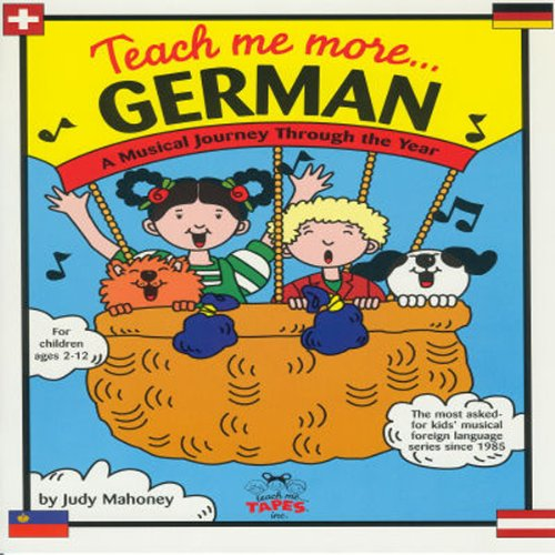 Teach Me More German cover art