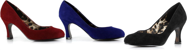 Ellie shoes E-BP304-Nora 3  Closed Toe Microfiber Pump