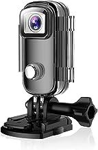 アクションカメラ 小型カメラ Wi-Fi搭載 多機能 ビデオカメラ 防水 防塵 耐衝撃 水深30m撮影 バースト写真 タイムラプス ループ録画 豊富なアクセサリー 水中/自転車/山登り/旅行/運動会/自撮り/防犯適用 日本語説明書 1年保証 黒