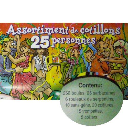 CDA – Lote de cotillones para 25 personas