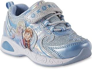 ACI Toddler Girls' Frozen Light-up Blue Sneakers