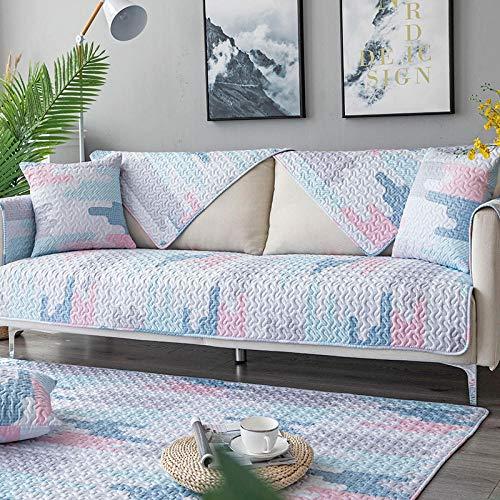 Hoekbank voor sofa, hoekbank, bankovertrek, bankovertrek, hoekbank van katoen, niet-verblekende bankovertrek, zachte bankovertrek, slijtvaste sofa-handdoek van Twill