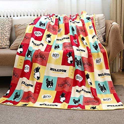 Manta de felpa para niños, manta de felpa para bebé, suave y cálida, manta de felpa, manta de terciopelo coral para cama, sofá, silla, sala de estar (3, 50 x 60 pulgadas)