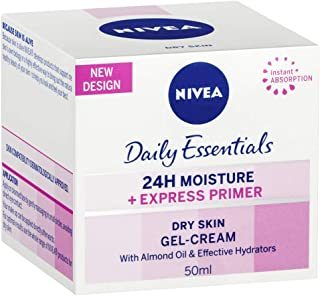 NIVEA Daily Essentials Express Primer Gel-Cream for Dry Skin, 50ml