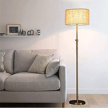 YMLSD Floor Lamps,Standing Light Vertical Lamps Lights Light Floor Lamp Living Room Bedroom Sofa Bedside Lamp Gold Postmodern