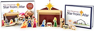 The Christmas Star from Afar Advent Calendar - Christmas Advent Nativity For Kids - Great Christian or Catholic Gift For Children
