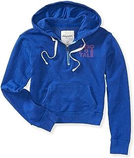Womens Aero Cropped Hoodie Sweatshirt