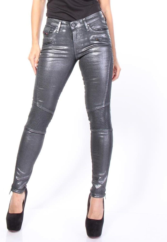 Diesel Women's SkinzeeBk 884Q Super SlimSkinny Regular Waist Jeans
