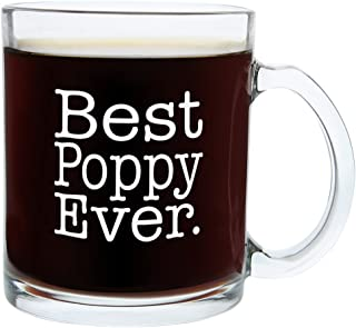 Sponsored Ad - Christmas Gifts for Poppy Best Poppy Ever Funny Fathers Day Gift Glass Coffee Mug Tea Cup