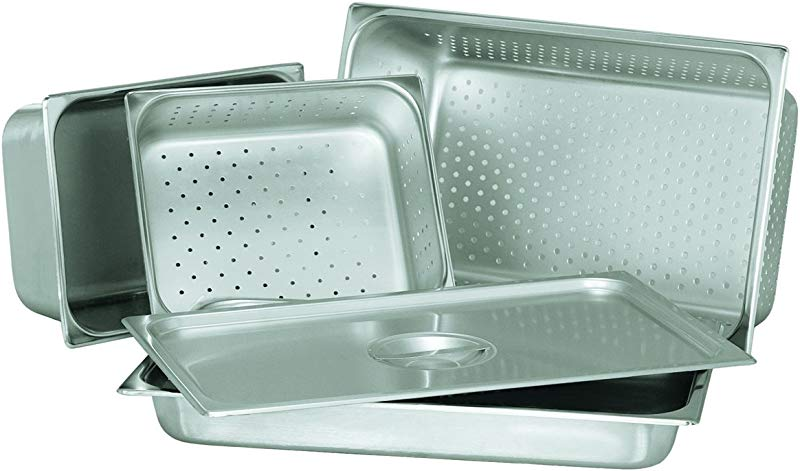 Update International STP 504PF S Perforated Steam Table Pan Half 4 In Deep 18 8 Stainless Steel AISI 304