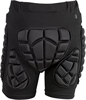TTIO Padded Shorts EVA Protective Gear Soft Breathable Lightweight Sportswear