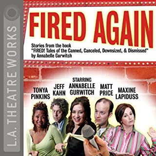 Fired Again audiobook cover art