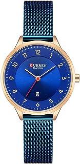 CURREN 9035 Women Watch Quartz Movement Wrist Watch Simple Causal Gift for Women