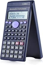 $27 » Dygzh Calculator Scientific Calculator 2 Line LCD Display Business Office Middle High School Student Counter 240 Functions Desktop Calculator (Color : Black, Size : One Size)