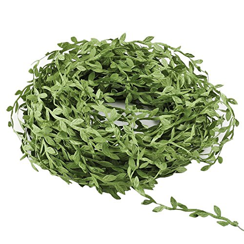 Acerich Vines for Room Decor, 132 Ft Fake Vines Hanging Plants Ivy Vines Garlands Simulation Foliage Rattan Green Leaves Decorative Home Wall Garden Wedding Party Wreaths Decor