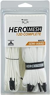 East Coast Dyes ECD Goalie HeroMesh 12D Semi-Soft Complete Kit - White