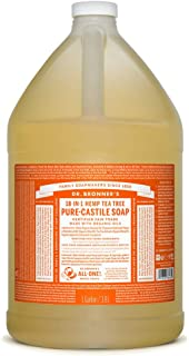 Dr. Bronner's - Pure-Castile Liquid Soap (Tea Tree, 1 Gallon)