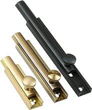 Vergrendeling Metalen Deurversterkingslot Slot HASP Sloten Metalen Trekgrendel (Size : 3 inch brushed gold)