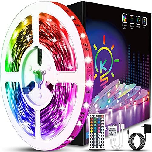 40ft Led Strip Lights XIER Color Changing RGB Led Light Strips LED Strips with Remote Led Lights for...