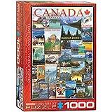 EuroGraphics Puzzle Kanadareise