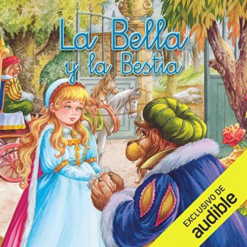 Diseño de la portada del título La bella y la bestia