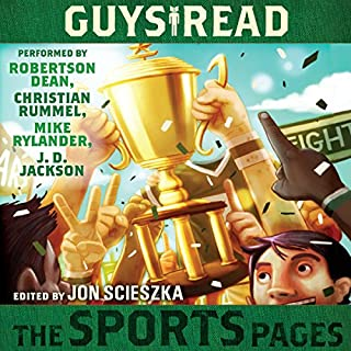 Guys Read: The Sports Pages audiobook cover art