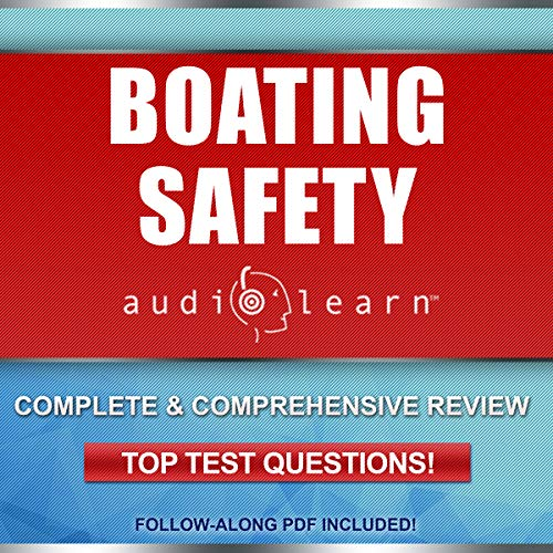 Boating Safety AudioLearn audiobook cover art