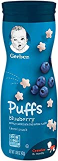 Gerber Blueberry Winter Puffs, 42 gm