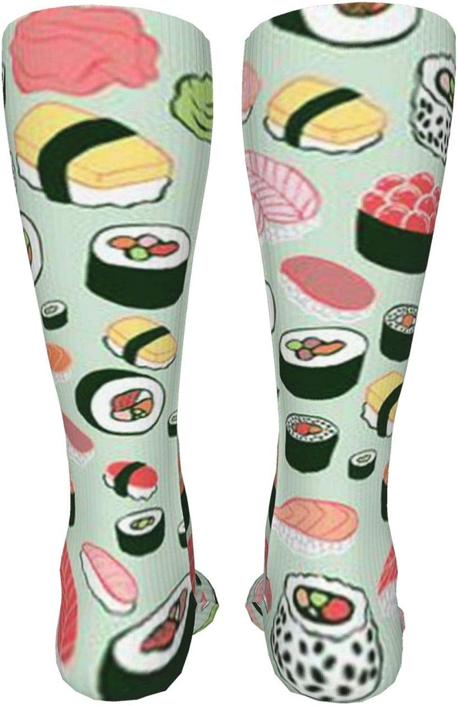 Sushi Women Premium High Socks, Stocking High Leg Warmer Sockings Crew Sock For Daily And Work